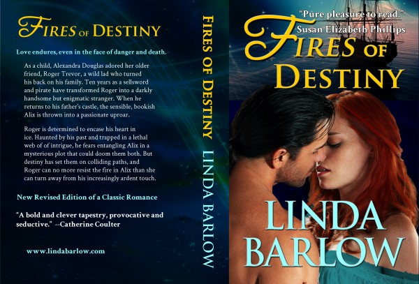 Cover for Linda Barlow's Blazing Nights