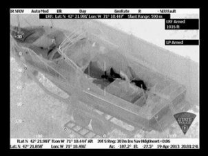 Massachusetts State Police Release Images of Suspect in Boat