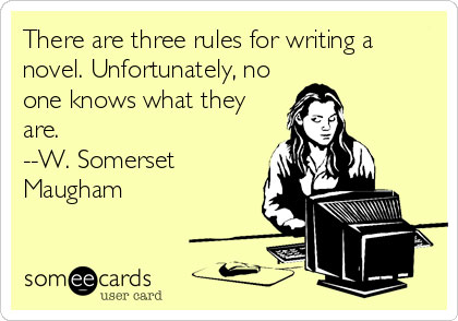 3 Rules for Writing a Novel