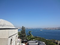 The Bosphorus from Topkapi Palace