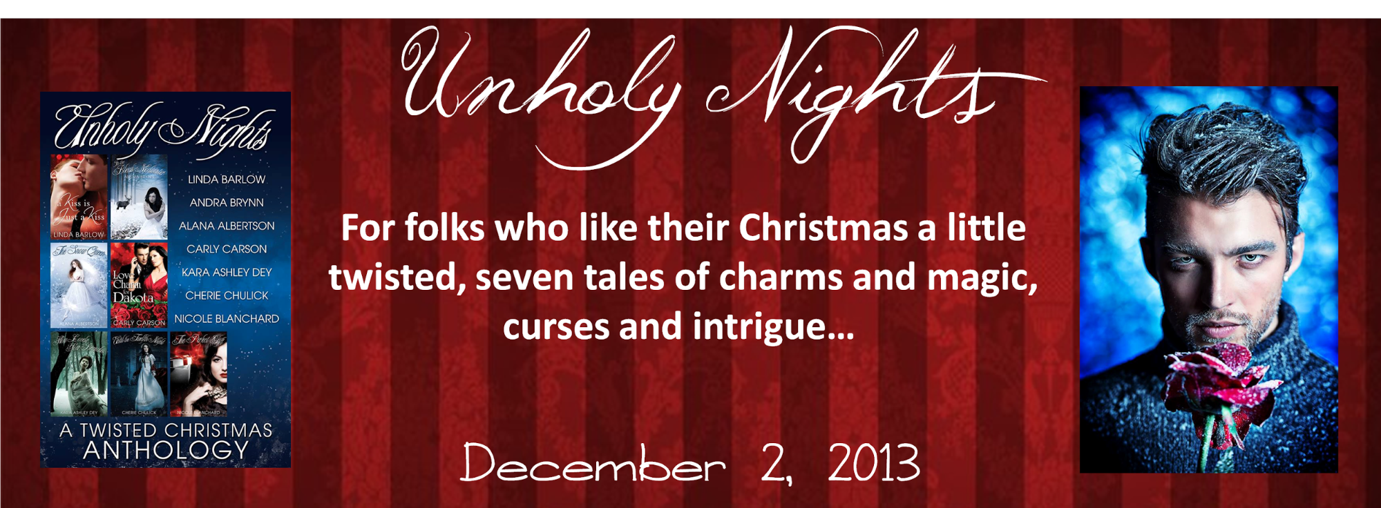 Unholy Nights A Twisted Christmas Anthology banner